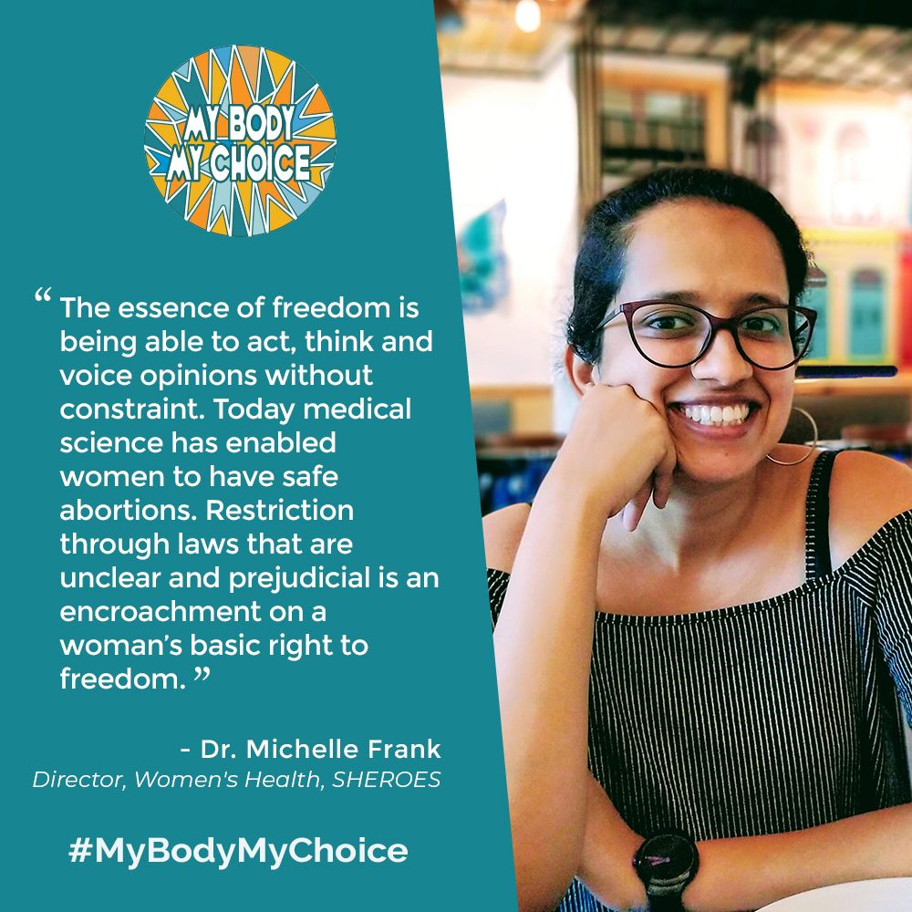 My body My choice campaign